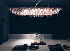 Bespoke chandeliers crafted in Milan for Abitalia by Lolli & Memmoli