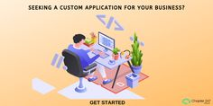 Custom software development company offering offshore custom software and application development with a team of experienced web developers and engineers. Application Development, Software Development, Get Started, A Team, Ecommerce, Java, Search, Business, Programming