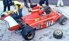 Niki Lauda, Ferrari 312B3, 1974 German Grand Prix, Nürburgring