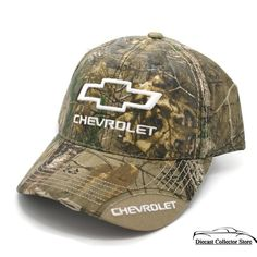 Chevy Chevrolet Trucks Car Garment Wash Relaxed Slouch Distress Hat Cap