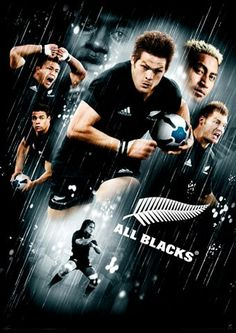 All Black/rugby. My new fave rugby team.the only rugby team I know of. They are badass! All Blacks Rugby Team, Nz All Blacks, Rugby League, Rugby Players, Meet The Team, A Team, Richie Mccaw, Rugby Men, Rugby Sport