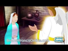 Ep7 The Annunciation: The Angel Gabriel Appears to Mary - YouTube
