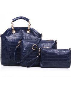 TasImport P950-BLUE Bag Import Murah Merek Berkualitas OEM ~ 100% IMPORT HIGH GRADE BAG ( 3 in 1 ) -- Material : PU Leather Length:   31 cm Height:    29cm Depth:      11cm Bag Mouth:  Zipper Long Strap:   Yes Weight: 1kg   ..