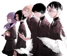 Tokyo Ghoul:re クインクス班 by 吉たろ※Permission to upload granted by artist. Do not repost/edit.Don't forget to bookmark & rate!