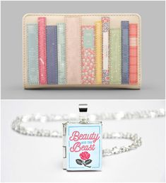 With Love for Books: Yoshi Bookworm Zip Around Purse & Beauty and the B...