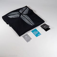 New nike swoosh logo kobe #basketball athletic cut dri-fit #black tee men #t-shir,  View more on the LINK: http://www.zeppy.io/product/gb/2/282341627719/