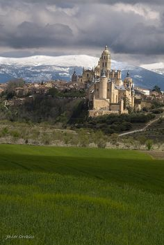 Segovia, Spain, panoramic view