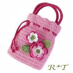 Ideas Crochet Purse Tutorial Little Girls Clutch En Crochet, Crochet Coin Purse, Crochet Pouch, Crochet Diy, Crochet Girls, Crochet Bunny, Crochet Purses, Crochet Crafts, Crochet Stitches