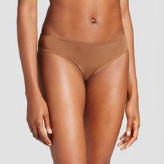 Women's Seamless Bonded Micro Bikini Sandbank Brown XS