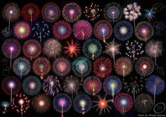 Fireworks festival in Omagari, Akita Fractal Art, Fractals, Awsome Pictures, Fireworks Festival, Scratch Art, 4th Of July Party, Japanese Prints, Ornament Wreath, Favorite Color