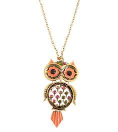 Owl Pendant Necklace £9.50
