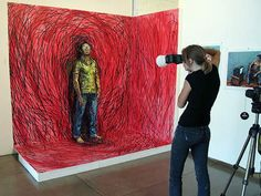 Artist Creates Living, Breathing Paintings. This Is Anything But Normal.