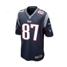 Rob Gronkowski New England Patriots NFL Blue Game Jersey