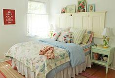A Sort Of Fairytale cottage bedroom Cottage style bedrooms Bedroom vintage Home bedroom