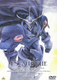 Anime artbook. The vision of Escaflowne