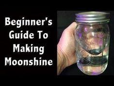 Moonshine Making 101 -Beginner Moonshine and Fuel Making - Off Grid living Moonshine Still Plans, How To Make Moonshine, Making Moonshine, Moonshine Mash Recipe, Moonshine Recipes Homemade, Grape Moonshine Recipes, Homemade Alcohol, Homemade Liquor, Beer Brewing