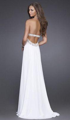 grecian prom dress