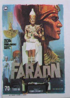 Folleto de JANO del film : FARAON. 1966.