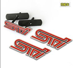 Excellent Smooth Glossy Metal STI Front Grille car Emblem Badge For Subaru Impreza WRX STI car Sticker car styling,2015 New♦️ SMS - F A S H I O N 💢👉🏿 http://www.sms.hr/products/excellent-smooth-glossy-metal-sti-front-grille-car-emblem-badge-for-subaru-impreza-wrx-sti-car-sticker-car-styling2015-new/ US $6.00