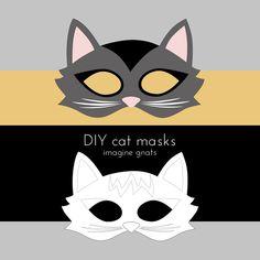 craft: handmade costumes cat mask tutorial - imagine gnats