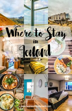 If you're planning a trip to Iceland and haven't booked your accommodations yet, this list of accommodations could help you decide where to stay in Iceland.