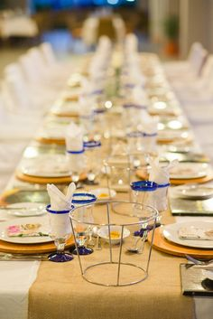 Destination Wedding: Costa Rica - Riu Palace Costa Rica - Wedding table decoration - Weddings By RIU