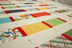 Quilting the quilt is the most time consuming part of the process but also the most rewarding!