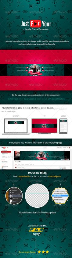 Royal Youtube Banner Template PSD. Download here: http://graphicriver.net/item/royal-youtube-banner/6942474?ref=ksioks