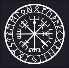 This rune is known as vegvisir, Icelandic for guidepost and sometimes referred to as the Viking Compass. The purpose of this magical charm is to