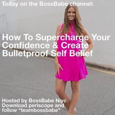 """Join NEW #bossbabe @niycpidge in 15 minutes!! Make sure you download periscope and then follow """"TeamBossBabe""""  We have helpful scopes Monday-Friday!  Follow the brand new #BossBabe team!  @jasminekaurmann - Self Mastery Expert & Confidence Queen @niycpidge - Happiness Coach & Mindset Boss @katgaskin - World Traveller & Creative Goal Getter @gurlgonesocial - Social Media Expert & Marketing Babe @dominiquegolightly - Mompreneur & Fitness & Fashion CEO"""