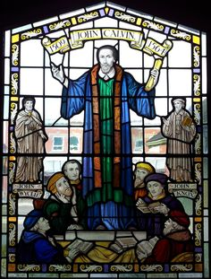 Christian Art, Religious Art, Stained Glass Windows, 1, Pilgrims, Amen, Fictional Characters, Pictures, John Calvin