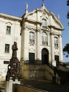 * Igreja de Santo Antônio * Lisboa, Portugal.