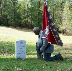 To Dishonor Our Fallen Because They Fought Under The Confederate Flag Is Disgraceful...
