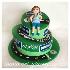 Comrades Marathon Cake #comradesmarathoncake Cupcake Cakes, Cupcakes, Sport Cakes, Marathon, Birthday Cake, Running, Sports, Desserts, Food