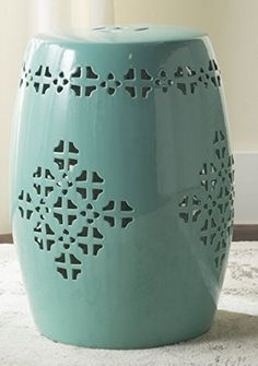 New White Ceramic Garden Stool Target