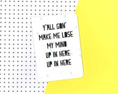 Party up notebook DMX Rap lyrics by invisiblecrown on Etsy Invisible Crown, Rap Lyrics, Mind Up, Notebook, Party, Quotes, How To Make, Etsy, Quotations