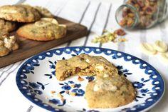 Cookie pistache & chocolat blanc - la vie lilloise