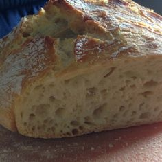 Homebaked bread for Lazy - Pan - Bread Recipes Pizza Recipes, Mexican Food Recipes, Bread Recipes, No Knead Bread, Pan Bread, Baked Rolls, Air Fryer Recipes, Southern Recipes, Turkey Recipes