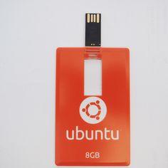 Gratis Flashdisk Kartu Ubuntu 8GB