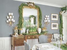 delight by design: classic christmas {dining room}