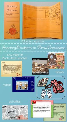 Teaching students the differences between making inferences, drawing conclusions, and predicting outcomes may be one of the most difficult skills to teach. Tools For Teaching, Teaching Strategies, Creative Teaching, Student Teaching, Teaching Resources, Teaching Ideas, Teaching Drawing, Student Drawing, 6th Grade Reading