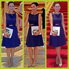 Dress-h&m,shoes-forever 21,clutch-splash,belt-qup