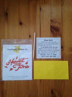 Harvest Time Die Cut Title on Etsy, $1.25