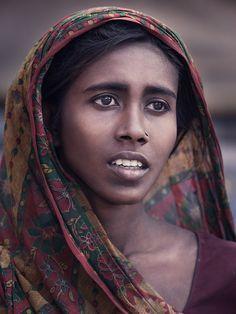 India; Varanasi; Street Life #2; Portrait; Hope