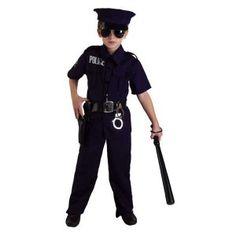 Αστυνόμος στολή για αγόρια της άμεσης δράσης