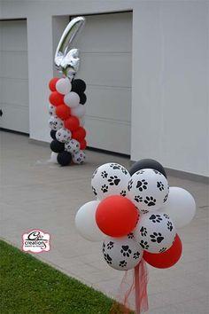 """Allestimenti con palloncini - Festa di compleanno """"La carica dei 101"""" e tanto altro realizzato da C&C Creations Eventi"""