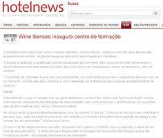 #wineschool #wineeducation #winecourses #educaçãovínica Centro de Formação da Wine Senses no site da Revista Hotelnews.