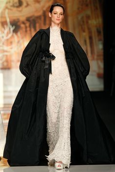 Vestidos de novia de Yolan Cris 2014 en blanco y negro
