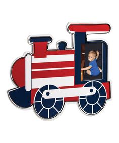 Another great find on #zulily! Transportation Train Wall Frame by Blossoms & Buds #zulilyfinds