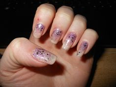 Barry M Glitter Nails!